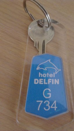 Hotel Delfin: номер