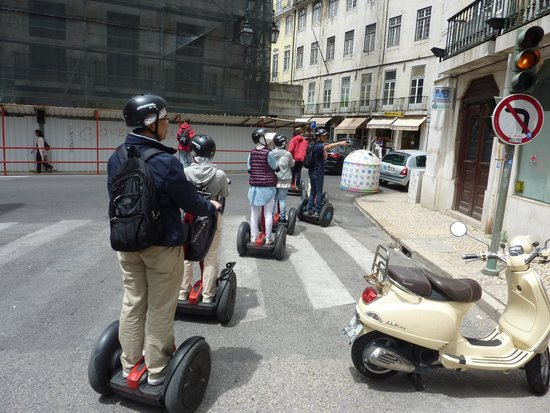 Red Tour Lisbon - Buggy and Segway Tours: Lisbon city tour by segway with Red Tour