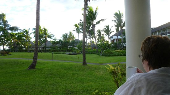 Sofitel Fiji Resort & Spa: View from our room