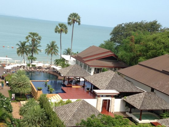 Pullman Pattaya Hotel G: Our room sea view