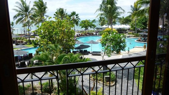 Sofitel Fiji Resort & Spa: View from the lounge/bar