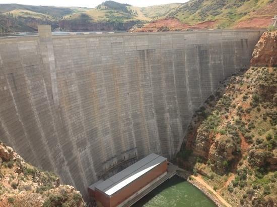 Bighorn Canyon National Recreation Area: dam
