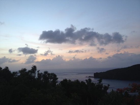 Guana Island: Sunset near Grenada 1....breathtaking!