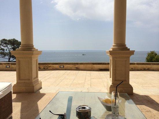 Hospes Maricel Mallorca & Spa: The grand terrace