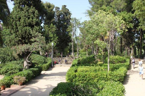 Parc de Montjuic : Сады