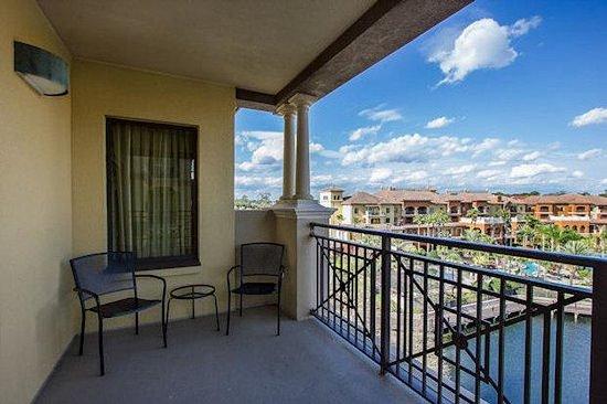 Wyndham Bonnet Creek Resort: Balcony