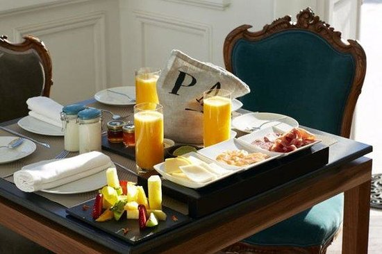 Palacio Astoreca Hotel: Breakfast at Palacio Astoreca