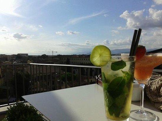Grand Hotel Minerva: Aperitivo in terrazza