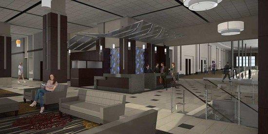 DoubleTree by Hilton Hotel Lawrenceburg: Hotel Lobby