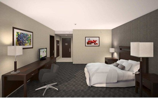 DoubleTree by Hilton Hotel Lawrenceburg: Guest Room