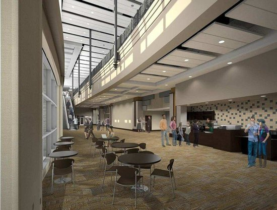 DoubleTree by Hilton Hotel Lawrenceburg: Event Center Lobby