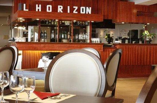 Grand Hôtel du Casino de Dieppe : Restaurant LHorizon