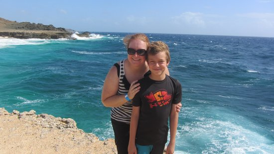 Aruba Off-Road Adventure : My son and I on the tour