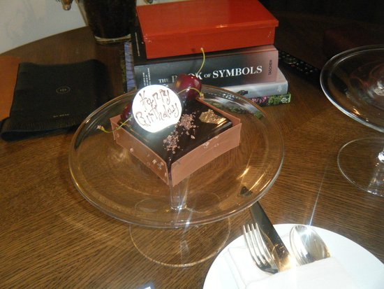 Rosewood London : Birthday cake