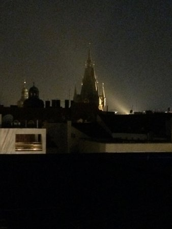 The Grand Mark Prague: View from deck