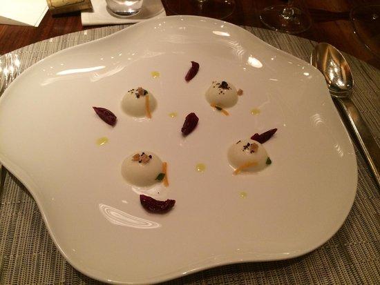 Cuisine[s] Michel Troisgros: Les cerises de mozzarella