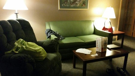 Quality Inn & Suites: Sitting room