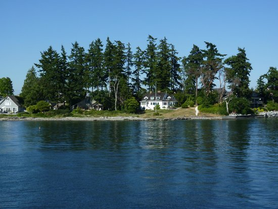 Washington State Ferries: Imagine Living Here!  Bainbridge Island.