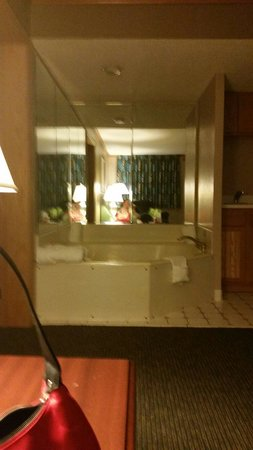 Quality Inn & Suites: Jacuzzi tub