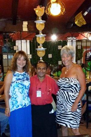 La Parrilla : Servicio a la mesa de Tequilas