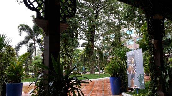 Pacific Hotel & Spa : 后堂