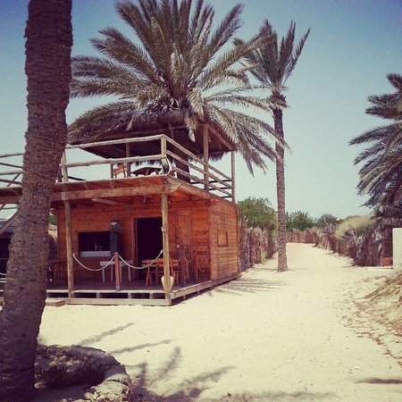 Homere Hotel: Beach bar