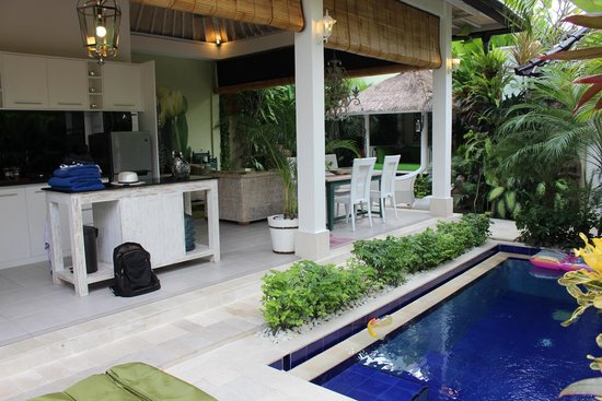 Bermimpi Bali Villas : Outdoor/indoor flow!
