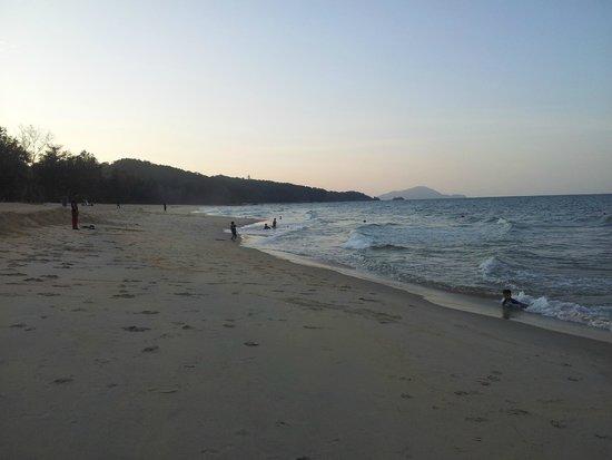 Resorts World Kijal: plage