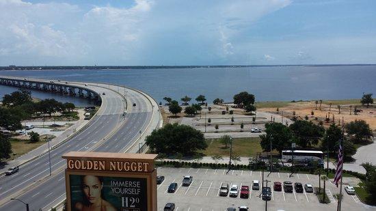 Golden Nugget Biloxi: room view 9th floor
