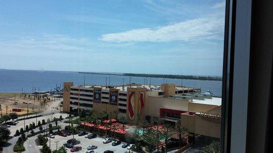 Golden Nugget Biloxi: 9th floor view