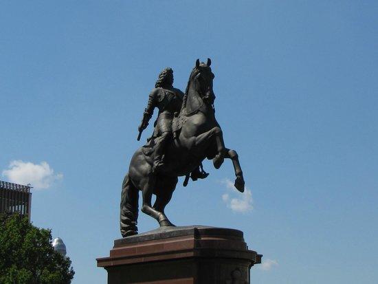 Statue of Ferenc Rakoczi: statua