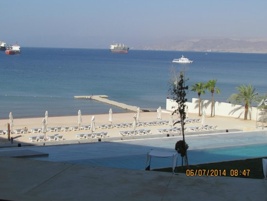 Kempinski Hotel Aqaba Red Sea: View From the Room