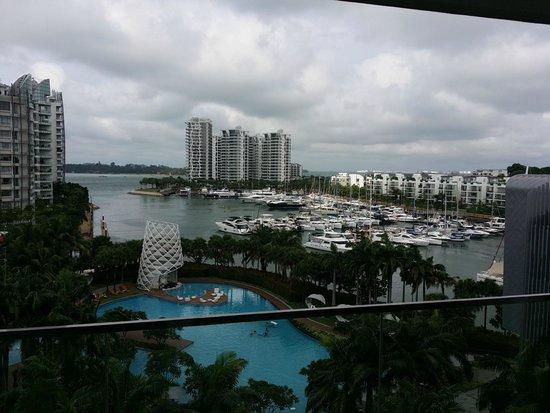 W Singapore Sentosa Cove: Windy view