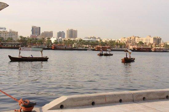 Bur Dubai Abra Dock : Dubai Creek