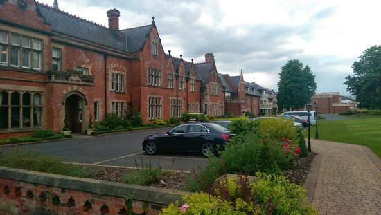 Rockliffe Hall: Raine Suite is Located Overlooking Car Park