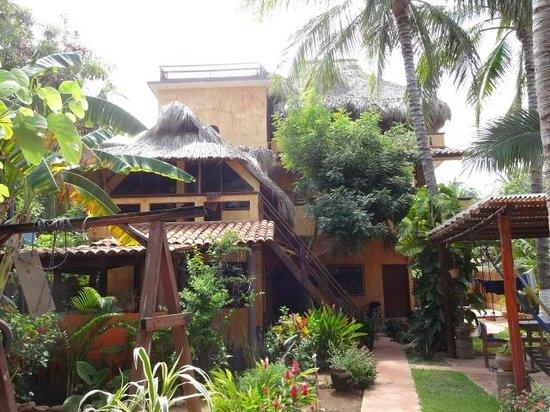 Puerto Escondido Surf House : Das Surfhouse