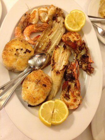 7 Portes: seafood sampler