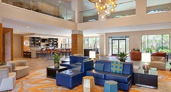 Lobby Picture Of Wyndham Anaheim Garden Grove Garden