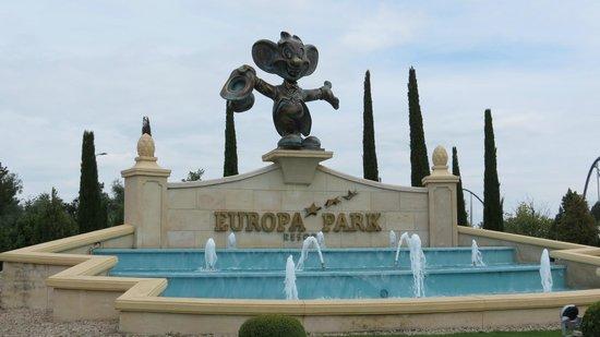 Europa-Park: L'entrée du parc