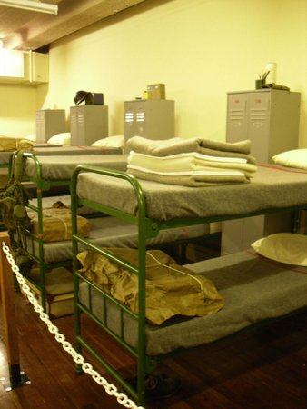 Scotland's Secret Bunker: sleeping quarters