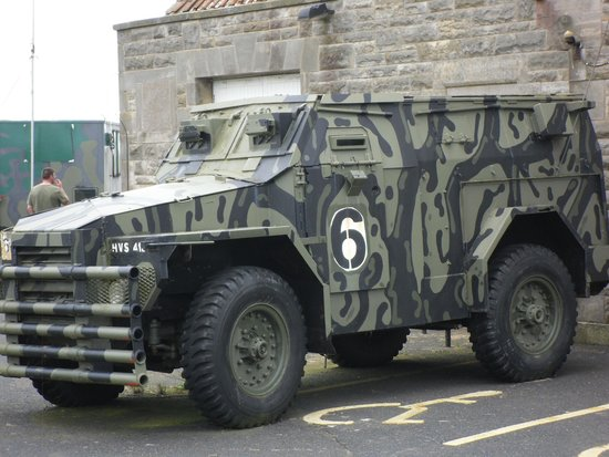 Scotland's Secret Bunker: army truck