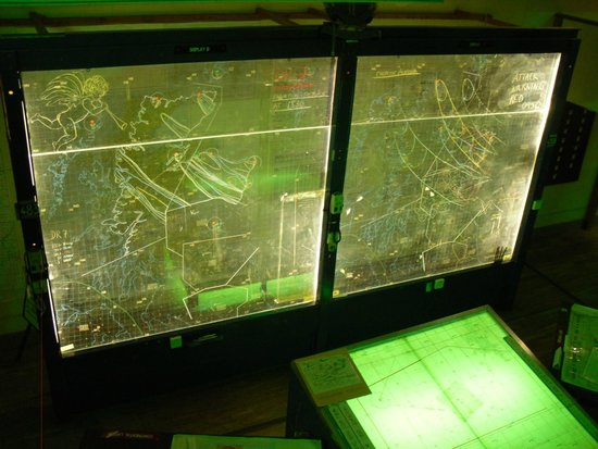 Scotland's Secret Bunker: op room