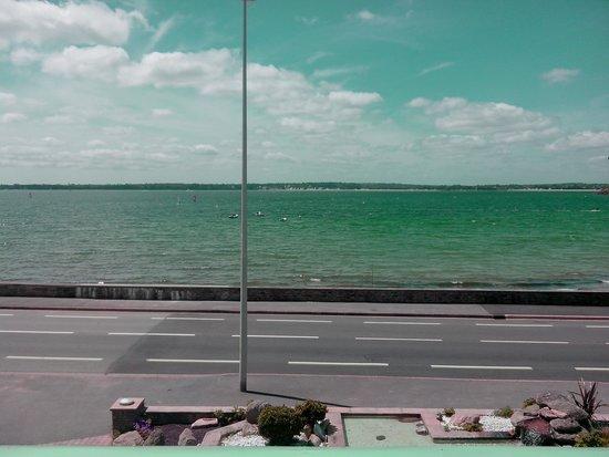 Hotel Restaurant de l'Ocean : La vue dans l'après-midi