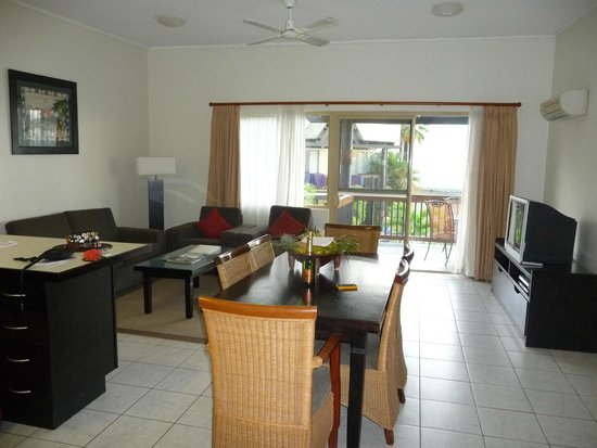 Wyndham Resort Denarau Island: Huge living area