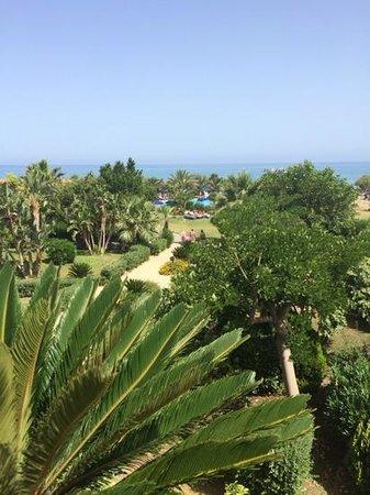 Fiesta Hotel Athènee Palace: walks through the gardens