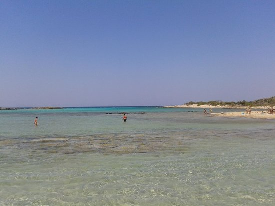 Plage d'Elafonissi : Mille sfumature di turchese