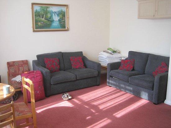 Panama Apartments: Lounge area