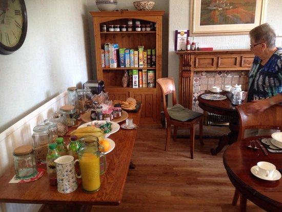Inglewood Boutique B & B: Het buffet
