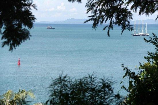 Sri Panwa Phuket Luxury Pool Villa Hotel: View from villa - outside area