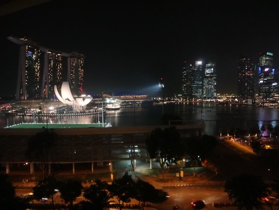 Mandarin Oriental, Singapore: Room with a view